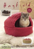Hayfield Super Chunky with Wool - 7804 Cat Nest & Storage Baskets Crochet Pattern